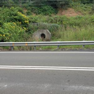 Railway drain