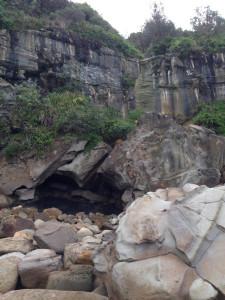 Coal boulder