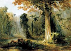 Conrad Martens. 'Mullet Creek, Illawarra', 1853. Watercolour and pencil, 30 x 43 cm